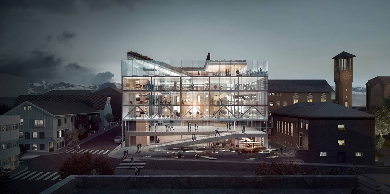 Norway: BODØ CITY HALL by TRANSBORDER STUDIO