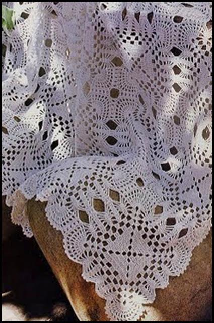 Pañoletas para bebé al crochet - Imagui