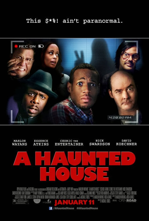Poster Of English Movie A Haunted House (2013) Free Download Full New Hollywood Movie Watch Online At Alldownloads4u.Com