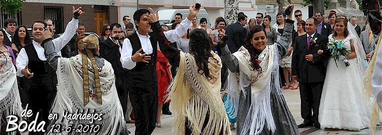 de boda en Madridejos