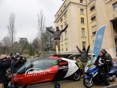 Финиш Zero Emissions Race