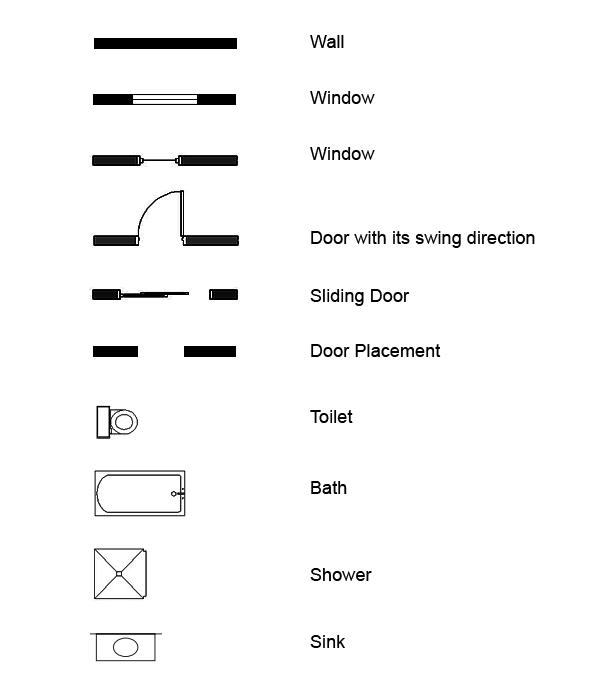 обозначения на чертеже