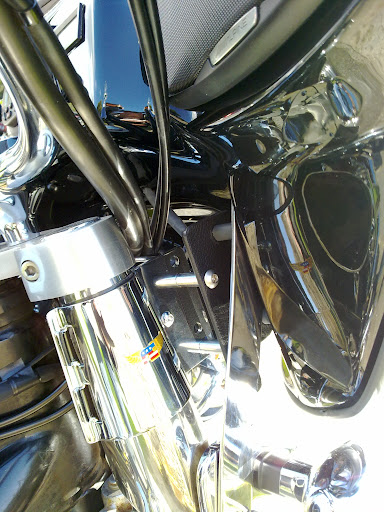 Colocación de Fairing (Batwing) en la moto Fairing%252005