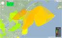 APRS 144 MHz tropo map pre-contest