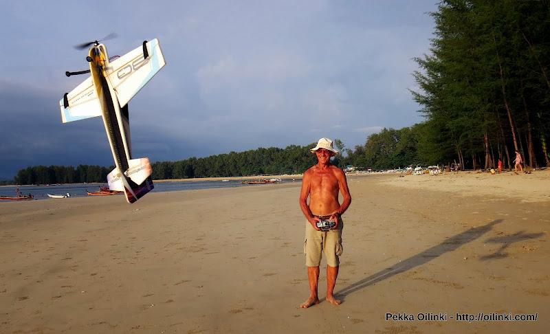 Flying RC planes at Nay Yang beach