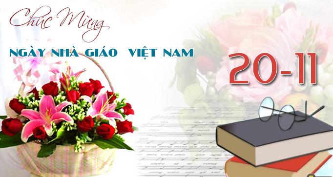 Những bài thơ lục bát chúc mừng thầy cô giáo nhân ngày 20-11
