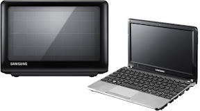Netbook Samsung con Paneles Solares