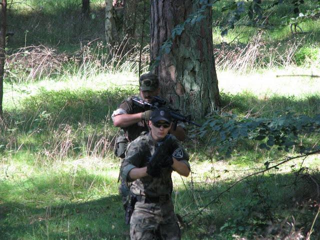 Zieluch (Kill Team) i Martin (M.O.S.T Rangers L?bork)
