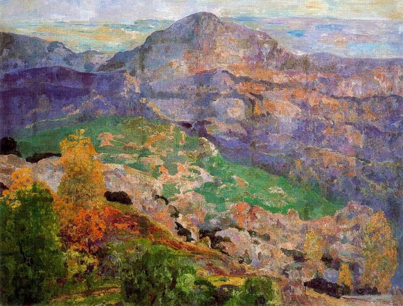 Hermen Anglada-Camarasa - View from Montserrat