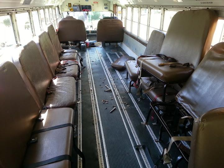 Drednought Refit of 2015 - 2003 Bluebird TC2000 - School Bus