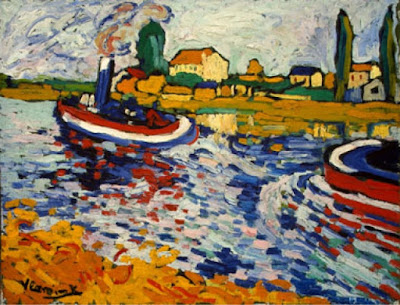 Maurice de Vlaminck Tugboat on the Seine