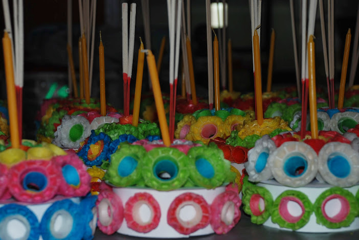 Лодки из бананового листа - кратонги - настоящее произведение искусства!