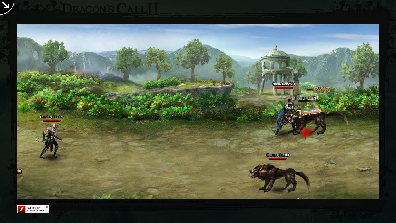 Một số hình ảnh về webgame Dragon's Call 2 - Ảnh 20