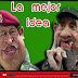 Chávez y Fidel en Muñecotes La mejor idea