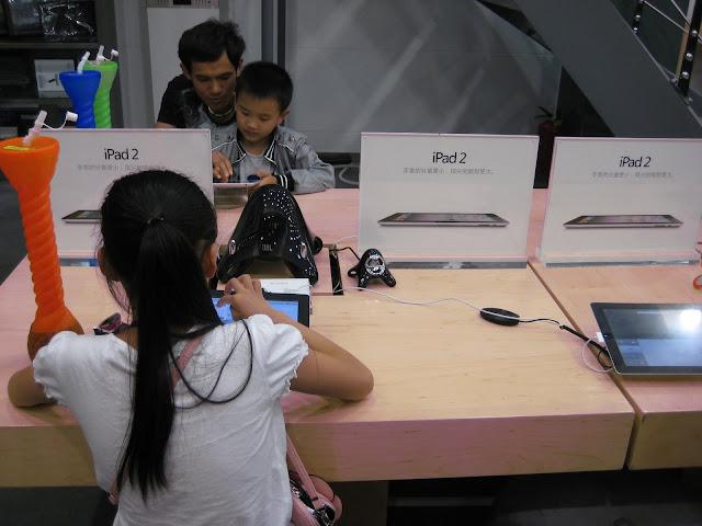 Falska apple butiker stangs i kina