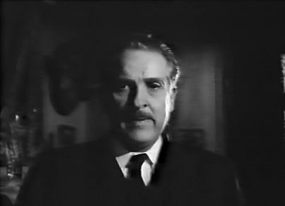 Arturo de Cordoba en una secuencia de la película El Esqueleto de la Señora Morales