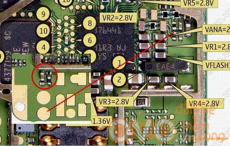 Link 1: Click To Enlarge Link 2: Bấm Để Xem Link 3: View Full Size Nokia  1600 1110i 6030 All Mic Solution