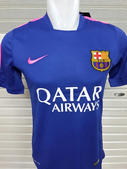 Jual Jersey Training Barcelona Biru Terbaru 2014-2015 Official