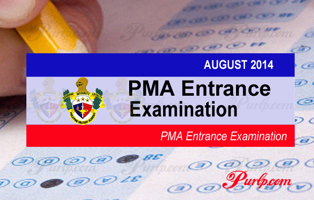 2014 PMA Entrance Exam Complete Results