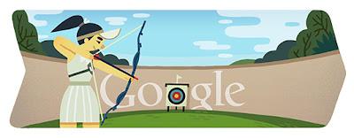 Google Doodle Bogenschießen