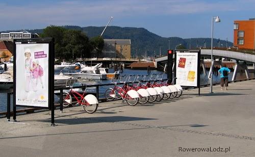 Stacja dokująca roweru publicznego