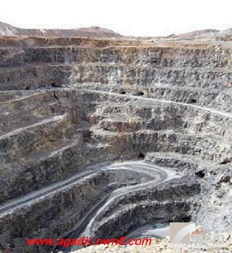 أكبر منجم لانتاج الفضة في افريقيا بجماعة اميضر القروية بضواحي تنغير Imitr