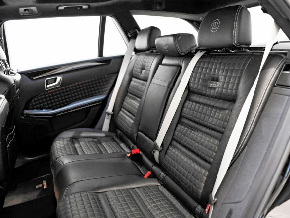 2014 Brabus Mercedes-Benz E63 AMG Wagon - Rear Seating