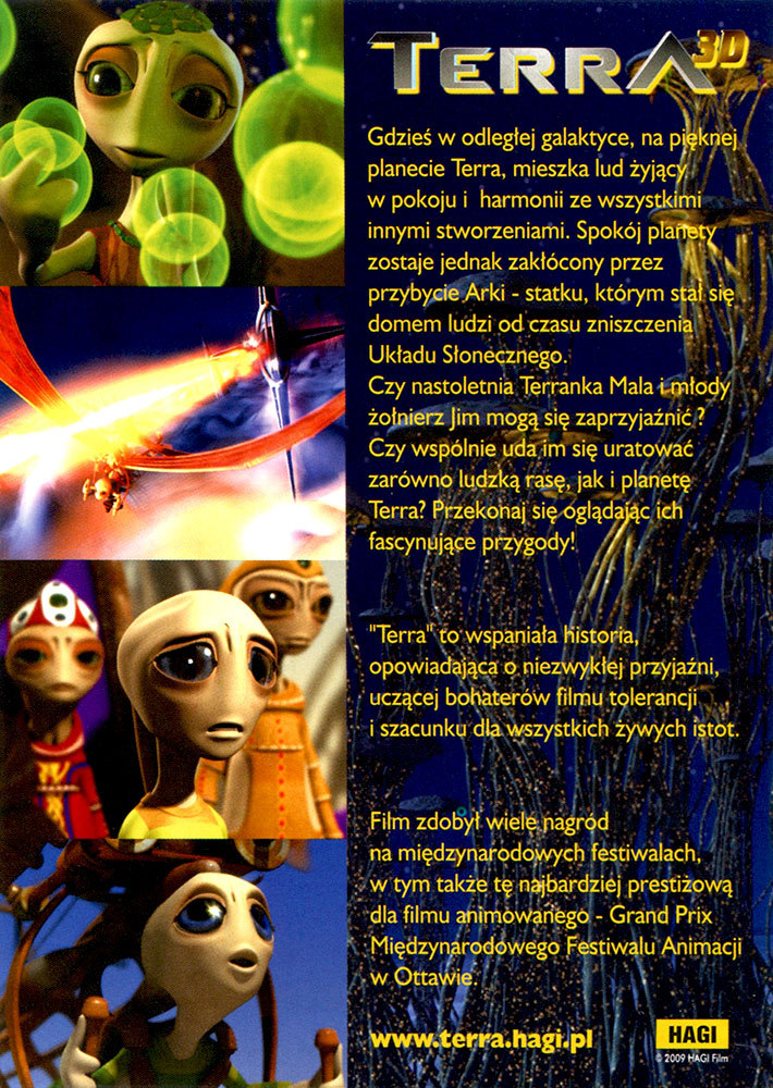 Ulotka filmu 'Terra (tył)'