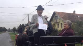 Kisbíró köszöntője - Jákó szüreti felvonulás