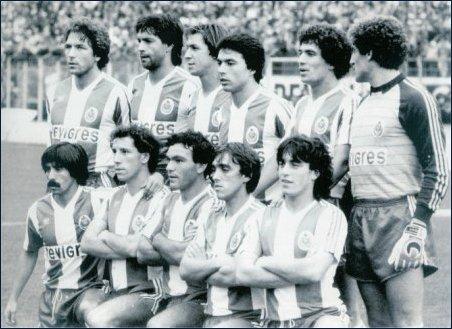 1984-85: a primeira equipa campeã com a Revigrés na camisola