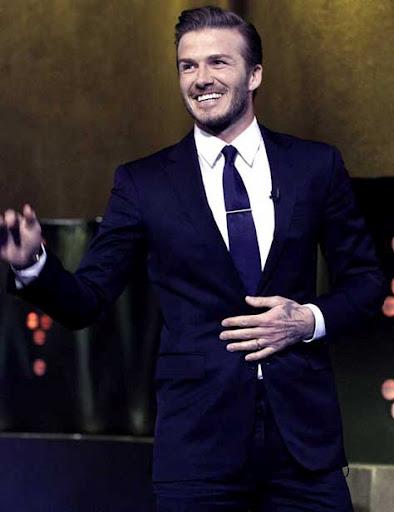David Beckham, elegante