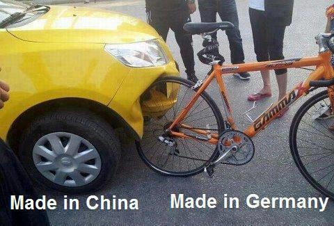 Made in China vs. Made in Germany