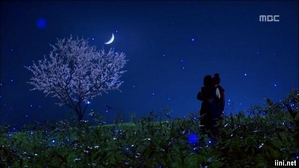 ảnh cùng ngắm trăng trong đêm