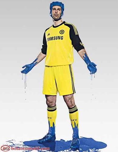 Jersey Kiper Chelsea musim 2013 2014