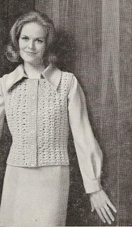 Easy Vest Crochet Pattern