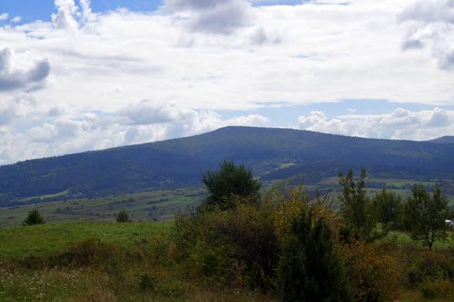 Na Węgierskim Szlaku, panorama, Kamień