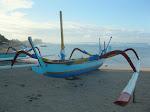 Sanur: sur la plage