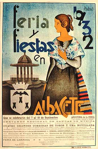 Cartel Feria Albacete 1932