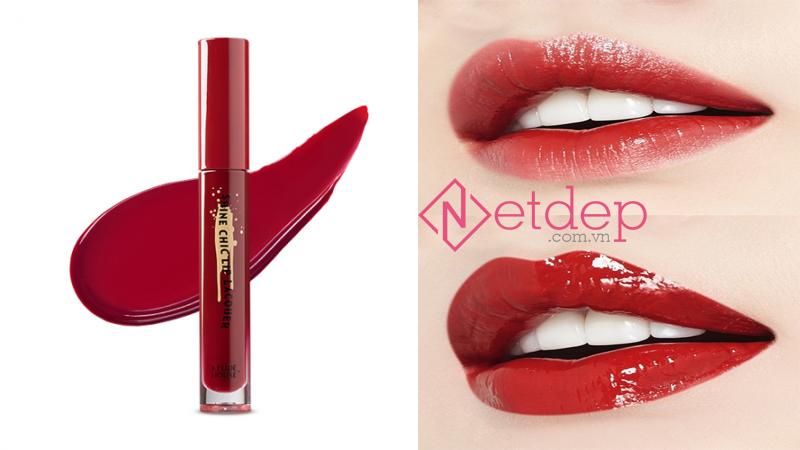 Son Etude House x Red Velvet Shine Chic Lip Lacquer #RD303 Soul Catcher