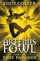 The Time Paradox (Artemis Fowl, Book 6), By Eoin Colfer Cover