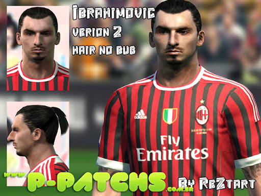 Ibrahimovic Face P-Patchs Pes 2011 Download
