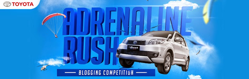 Uji Nyali Kamu Lewat Adrenaline Rush Blogging Competition!