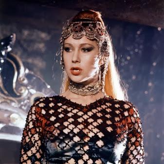 Helen Mirren as Morgana in Excalibur (1981). #HelenMirren  #Excalibur