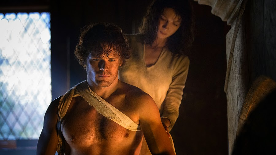 Starz Outlander Series Jamie and Claire