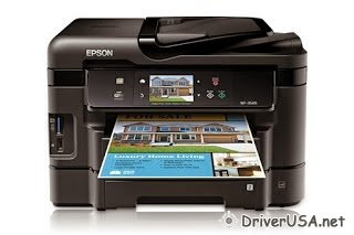 download Epson Workforce WF-3540 printer's driver