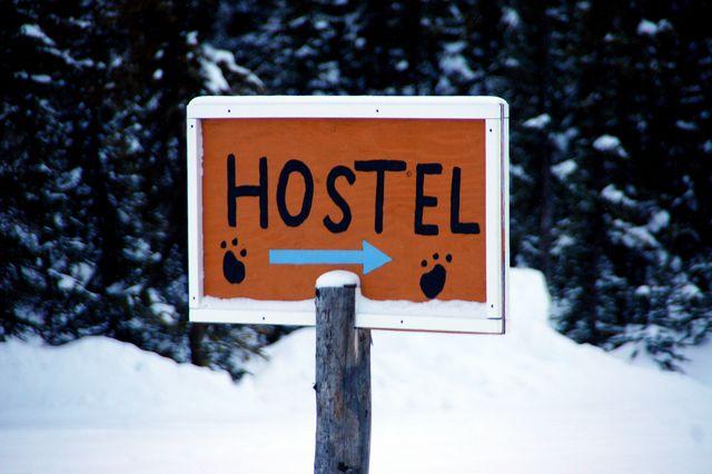 追尋帶來幸福的極光-3 Dog Night Hostel