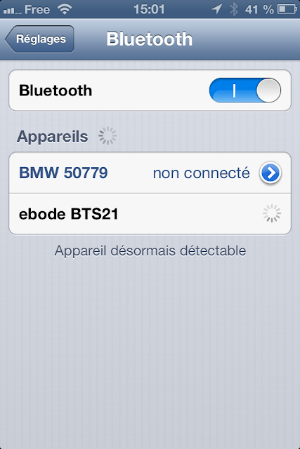Détection Bluetooth