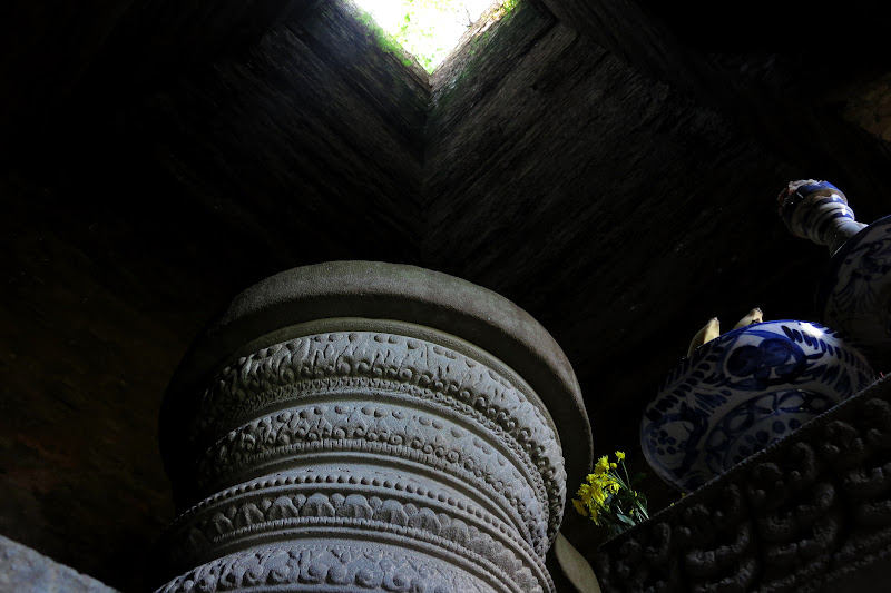 Interior altar