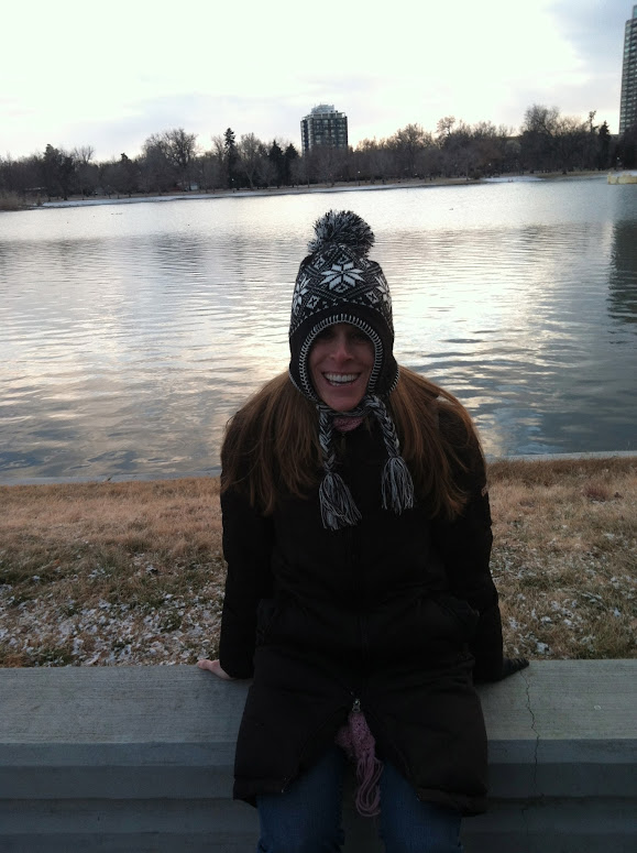 Me freezing in the Mile High City!