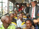 Martin Köbler, représentant spécial du secrétaire général de l'Onu pour la RDC  visitant les expulsés de Brazzaville le 23/05/2014 à Kinshasa-Maluku. Radio Okapi/Ph. John Bompengo